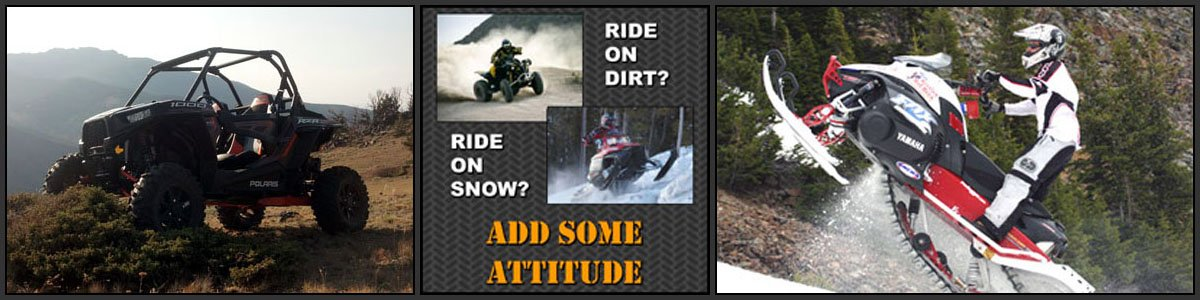 Attitude Industries Ride With Attitude